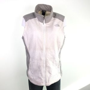 The North Face White Fleece Liner Vest DR02515